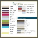 InnerSleep Kleurenkaart