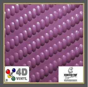 Vinyl 5 met diagornaal rekpatroon